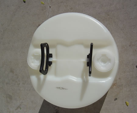 15 Gallon Barrel/Drum Closed Top - Top View
