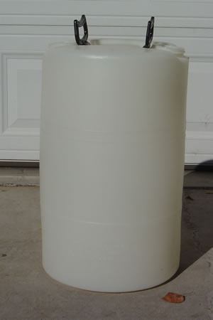 15 Gallon Barrel/Drum Closed Top - Side View