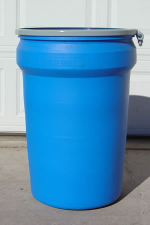 30 Gallon Barrel/Drum Open Top - Side View