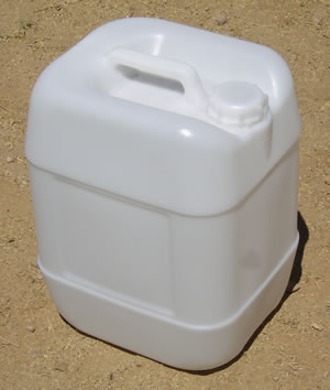 5 Gallon Barrel/Drum Closed Top - Side View