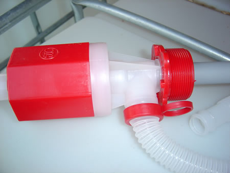 Plastic Siphon - Side View